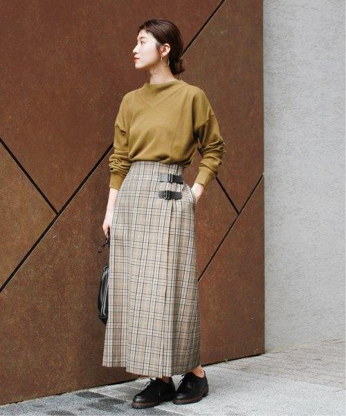 [JOURNAL STANDARD] Pチェックラップスカート