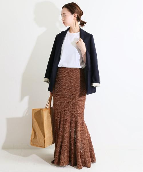 [IENA] IENA LA BOUCLE Broche レーススカート◆