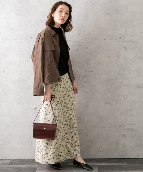 [URBAN RESEARCH ROSSO WOMEN] フラワーMIXプリントスカート2