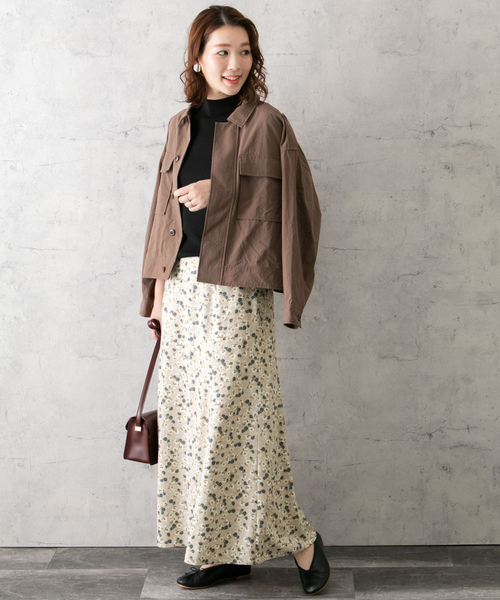 [URBAN RESEARCH ROSSO WOMEN] フラワーMIXプリントスカート
