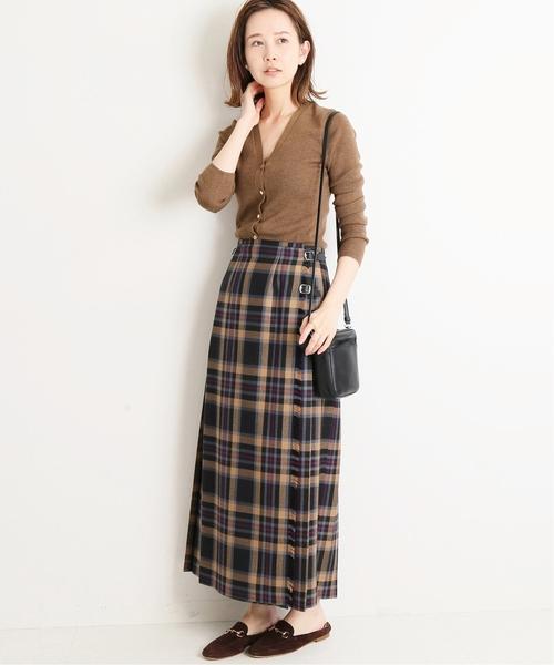秋 スカート