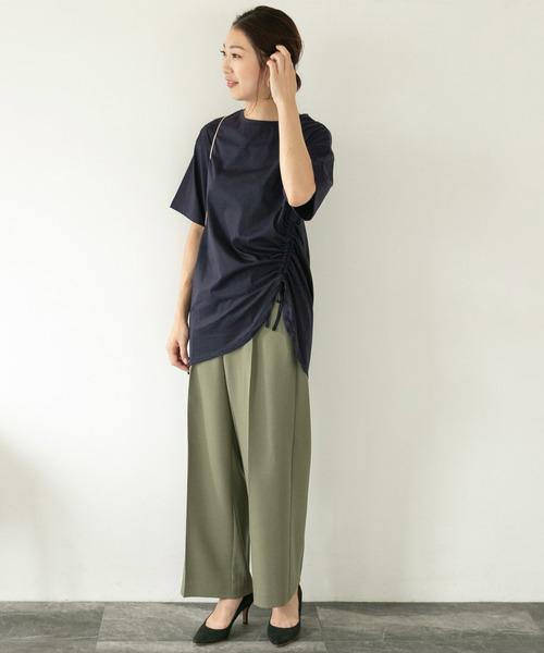 [URBAN RESEARCH ROSSO WOMEN] ニュアンスドロストTシャツ