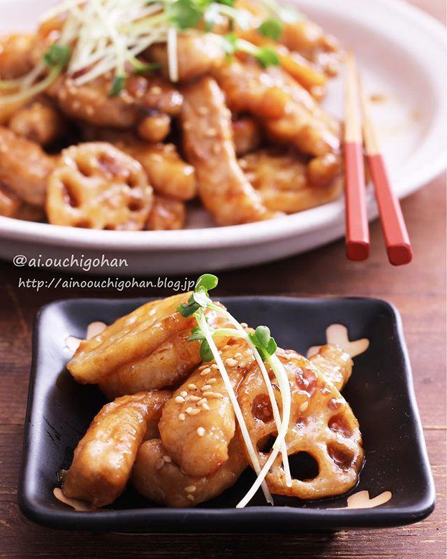 れんこん 人気レシピ 炒め物 焼き物4