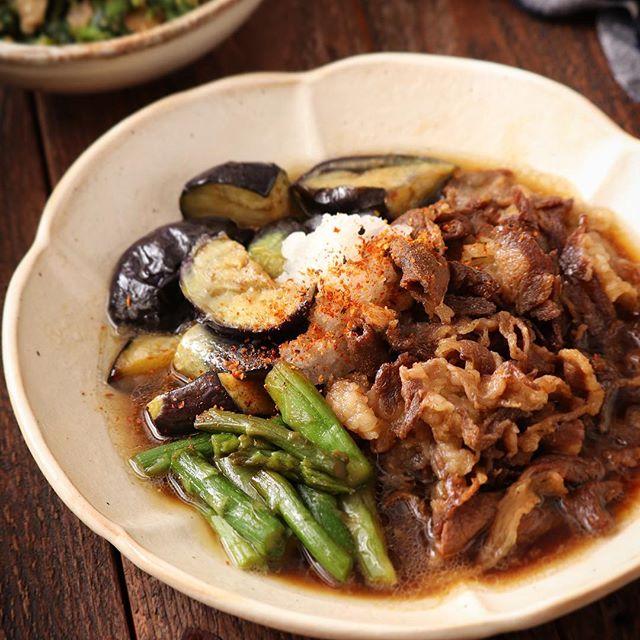 ごはんがすすむ!牛肉と茄子の簡単甘辛煮