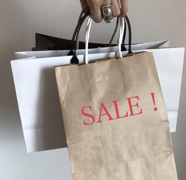 セールでのお買い物のコツ