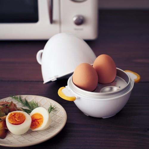 レンジで簡単!ゆで卵
