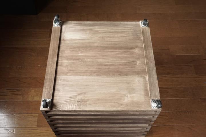 セリア 木材 DIY7