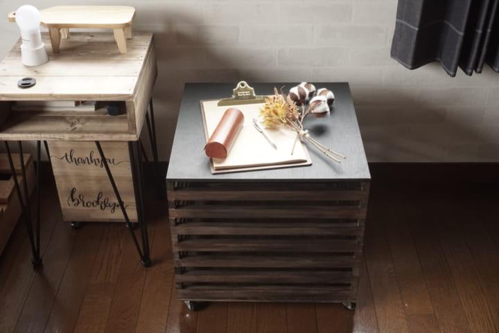セリア 木材 DIY11