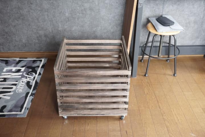 セリア 木材 DIY6
