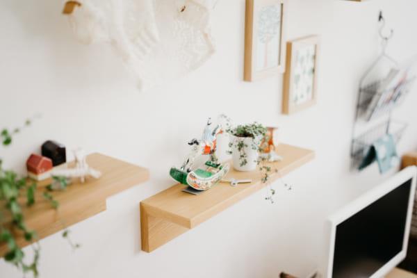 無印良品の「壁に付けられる家具」
