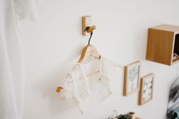 無印良品の「壁に付けられる家具」 フック
