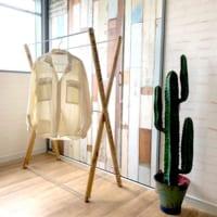 【連載】室内干しやアウトドアに便利な「折り畳み物干しスタンド」をDIY♬