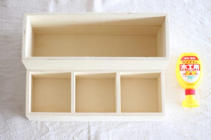 収納ボックス DIY10