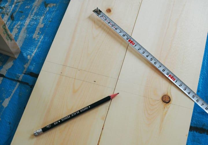 マンガ 収納 ラック DIY7