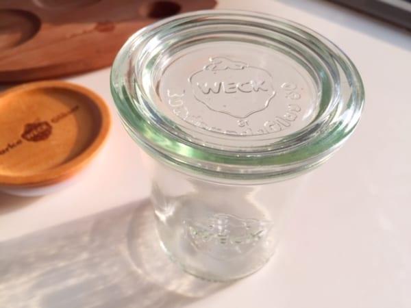 人気のガラス容器「WECK」