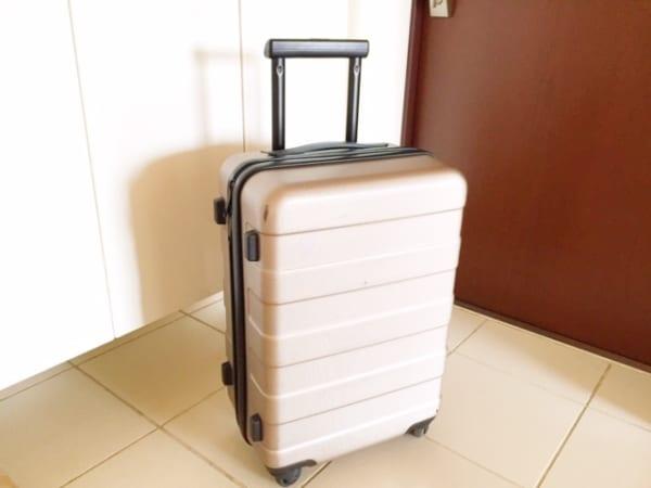 スーツケース 収納