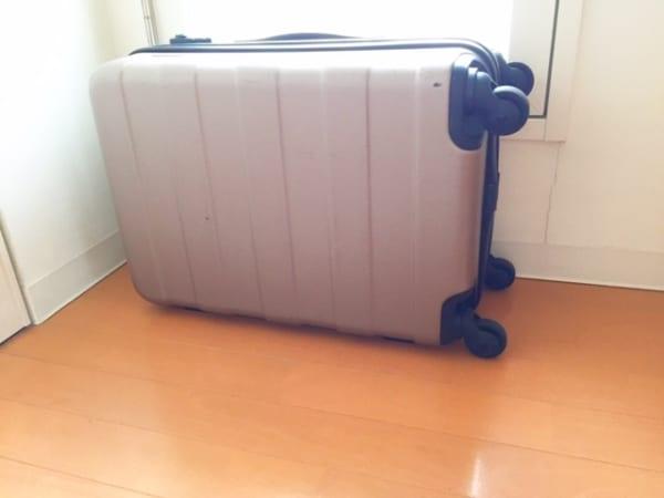 スーツケース 収納9