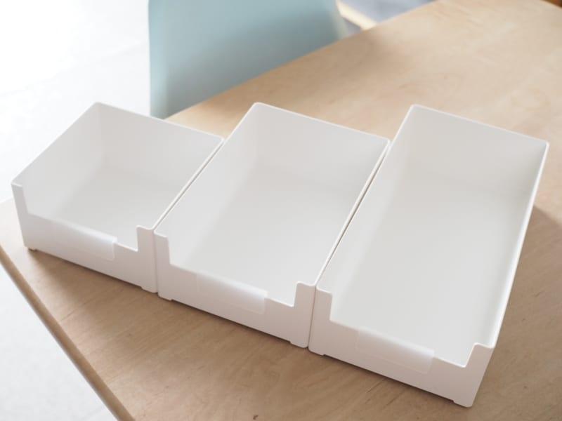 幅広タイプ3種の収納アイデア