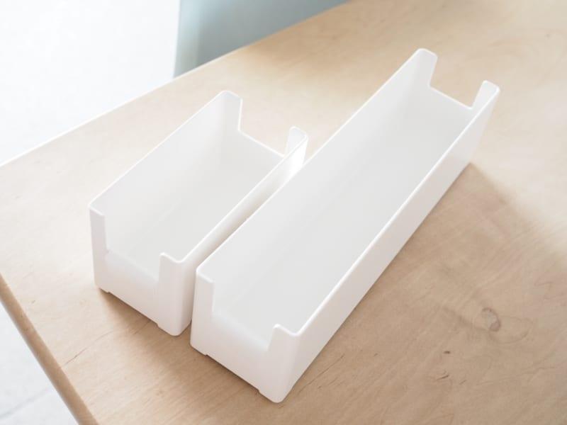 スリムタイプ2種の収納アイデア