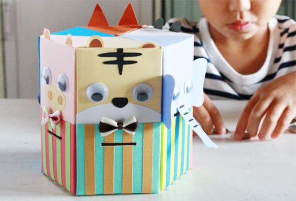 空き箱とダンボールで作る簡単DIY2