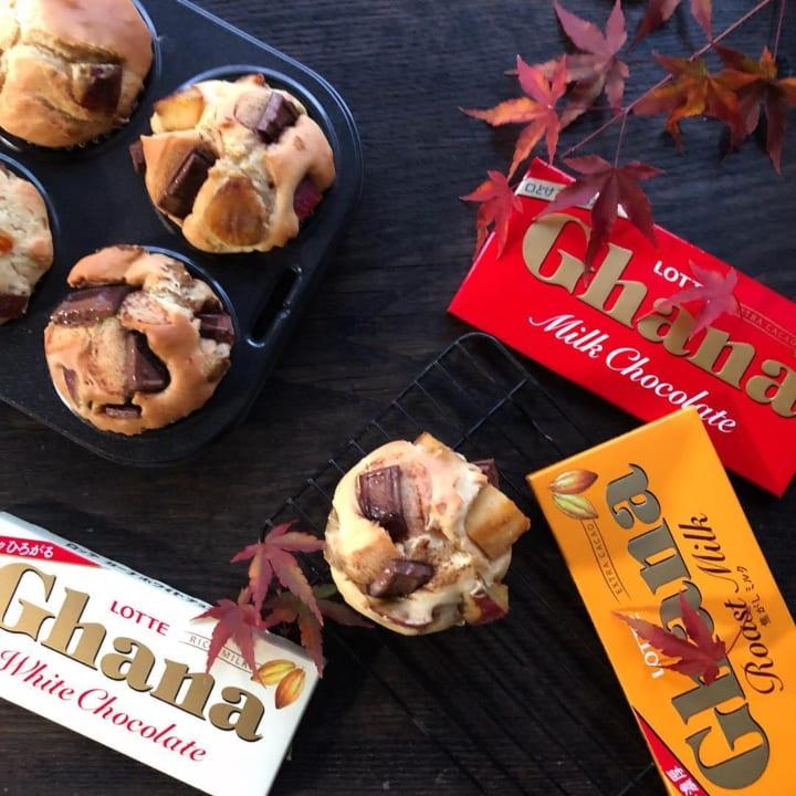季節のスイーツ!秋の味覚とチョコレートの濃厚マフィン