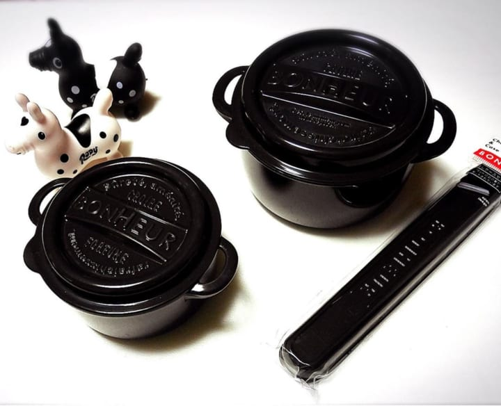 ランチポット&箸セット【セリア】