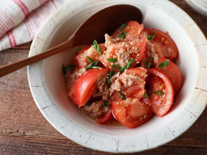 トマトとツナの和マリネ