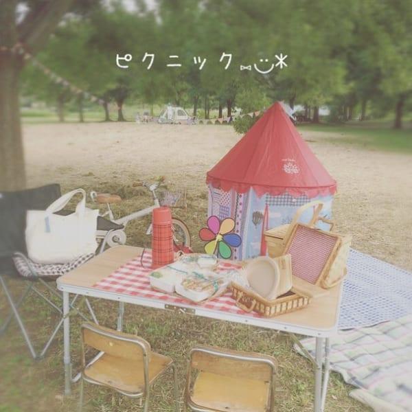 ピクニック テント2
