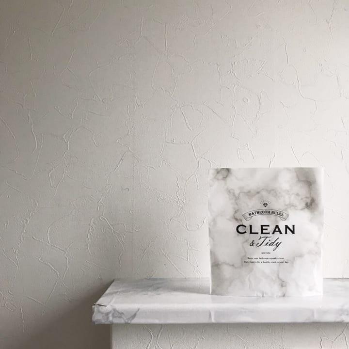 自立する洗面所用ゴミ箱