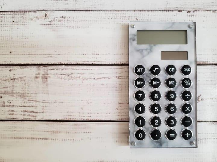 ソーラー電卓