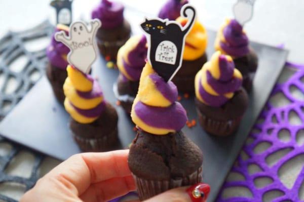 チョコレート カップケーキ レシピ5