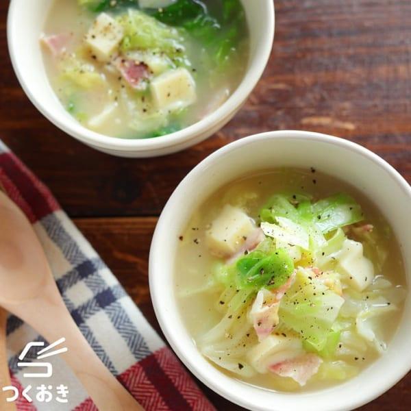 オムレツ スープ3