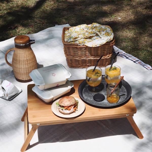 ピクニック テーブル スツール2