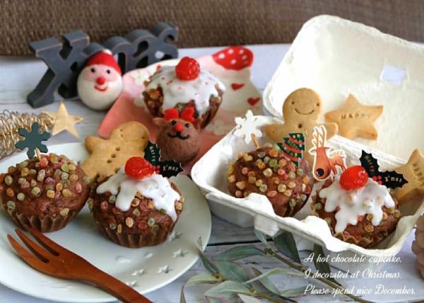 チョコレート カップケーキ レシピ7