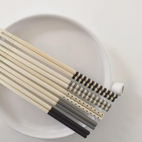 モノトーン菜箸5組セット