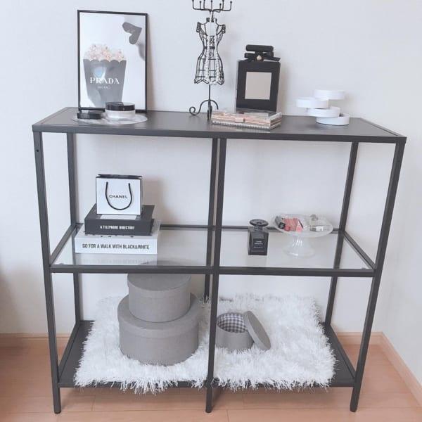 IKEAのシェルフユニット