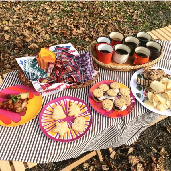 ピクニック お皿