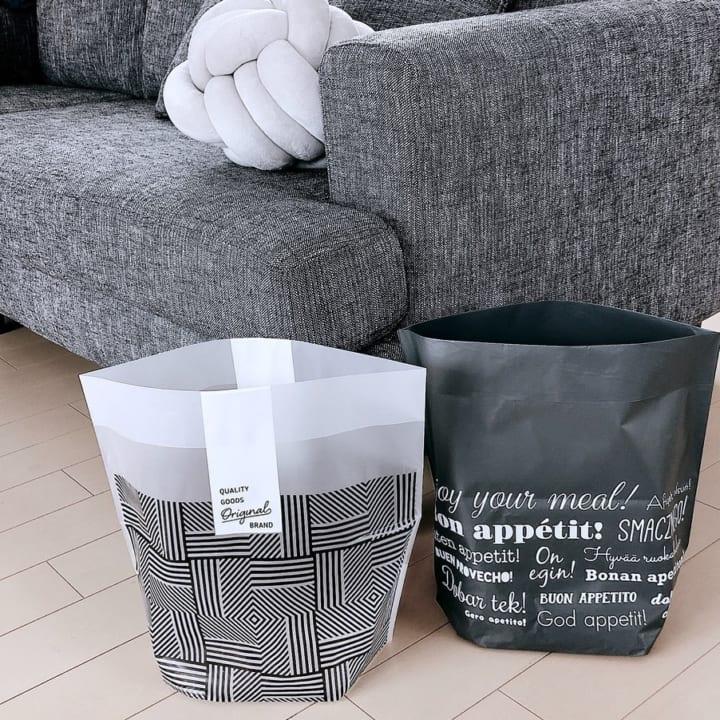 自立型ゴミ箱