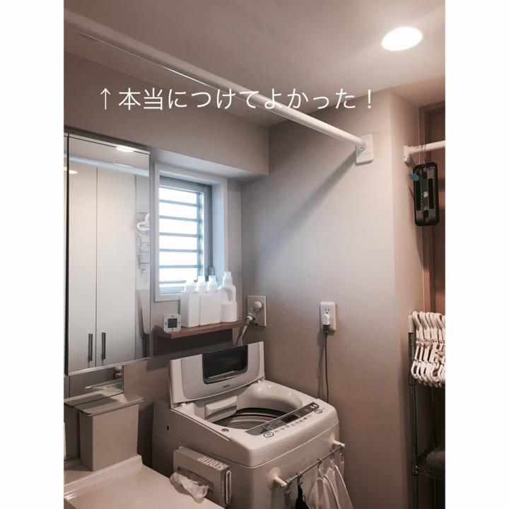 洗面所で大活躍2