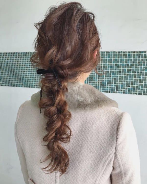 秋におすすめのロングの髪型&アレンジ9