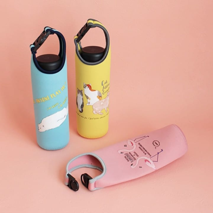 CouCou フラミンゴ ボトルホルダー
