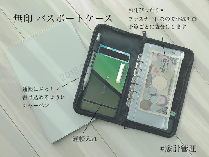 【無印良品】パスポートケース2