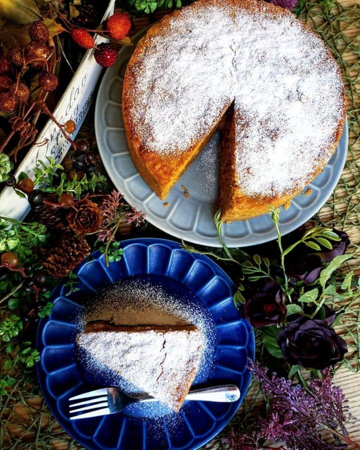 スパイス香るキャロットケーキ