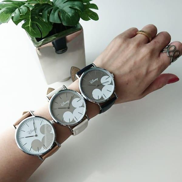 ミッキーの腕時計(ダイソー)
