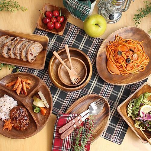 CouCouのアカシア食器シリーズ