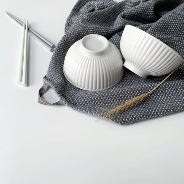 ホワイトお茶碗