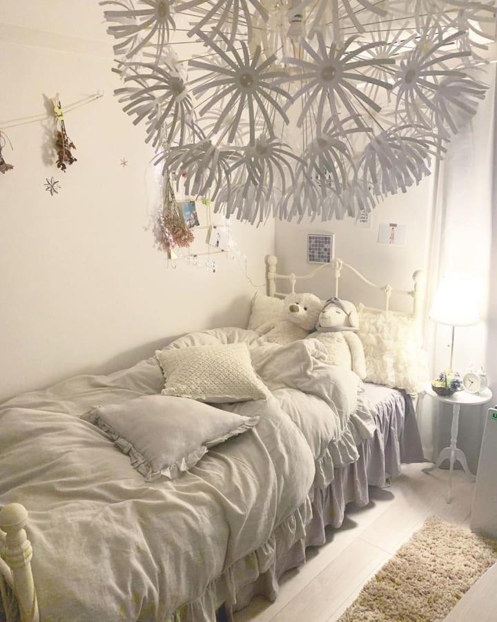 「ホワイトインテリア」のお部屋