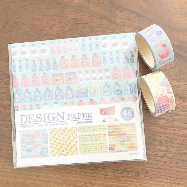セリア 折り紙