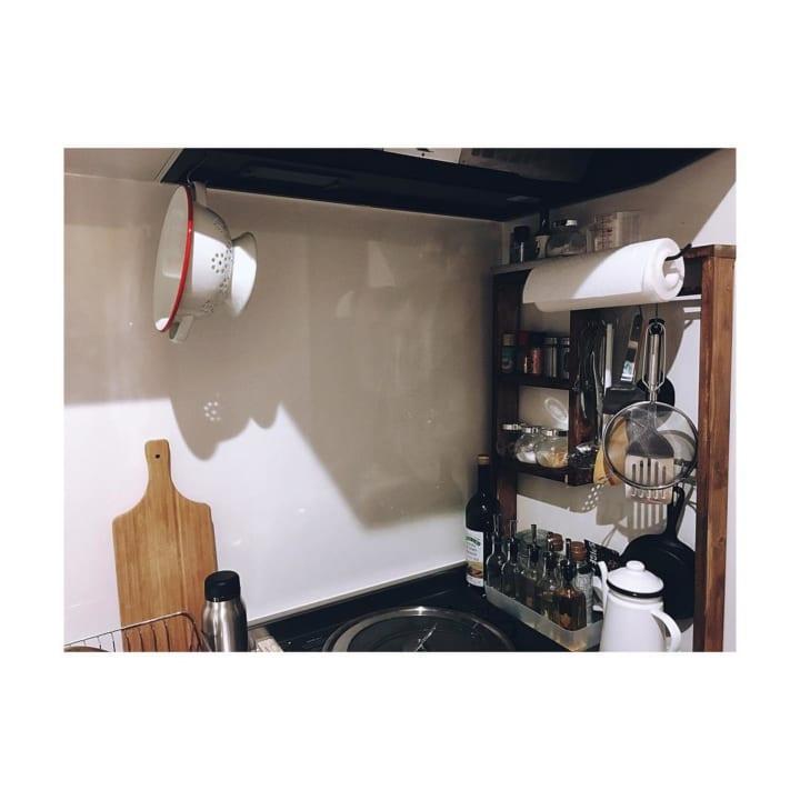 DIYの収納棚