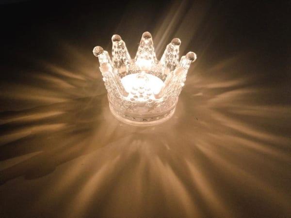 幻想的な光を演出するキャンドルホルダー【セリア】